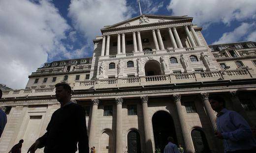 """Die Notenbank """"Bank of England"""""""