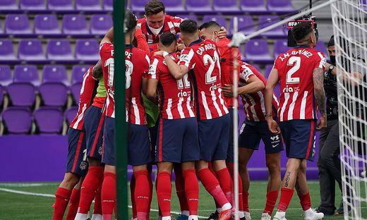 Grenzenloser Jubel bei Atletico Madrid