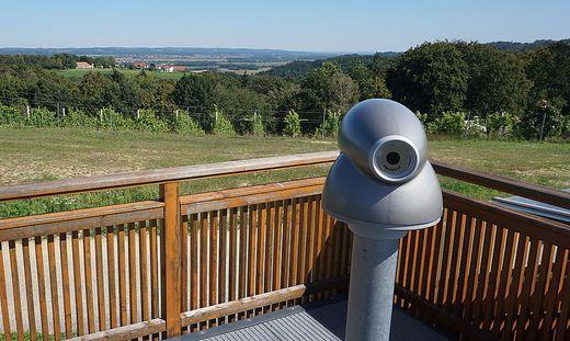 Vinothek-Projekt bei Aussichtspunkt in Bad Loipersdorf