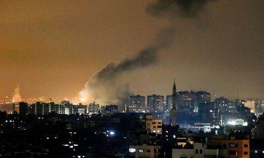 Auch am 15. Jänner kam es zu Luftangriffen im Gazastreifen