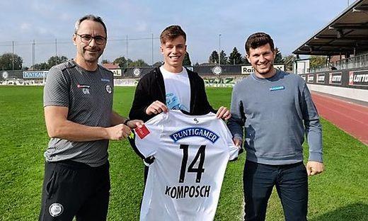Günther Neukirchner, Paul Komposch und Andreas Schicker