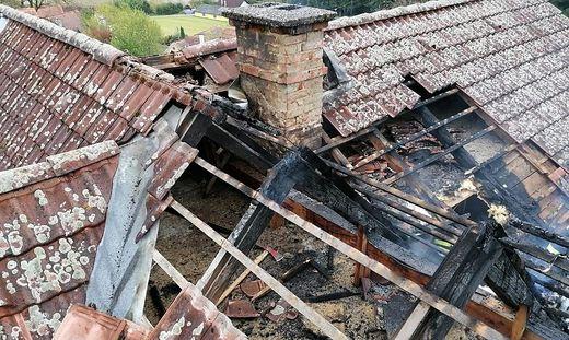 Schaden am Dach