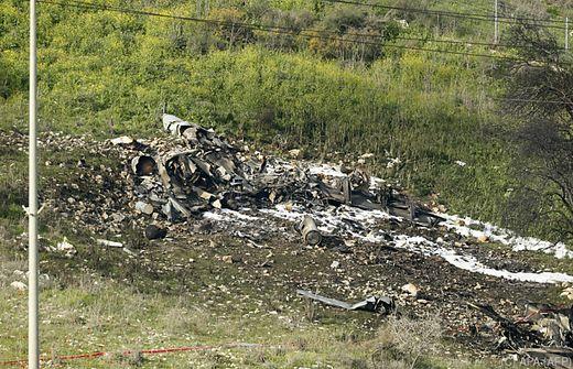 Israelisches Kampfflugzeug bei Angriff in Syrien abgeschossen