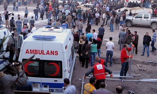 Syrische Flüchtlinge auf Flucht vor türkischer Polizei gestorben