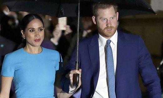 Meghan Markle und Prinz Harry leben in Kalifornien