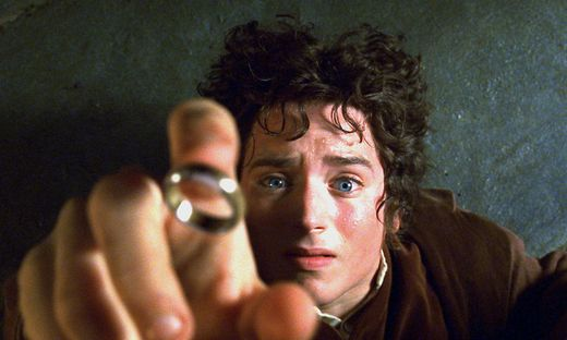 Elijah Wood in seiner Rolle als Frodo