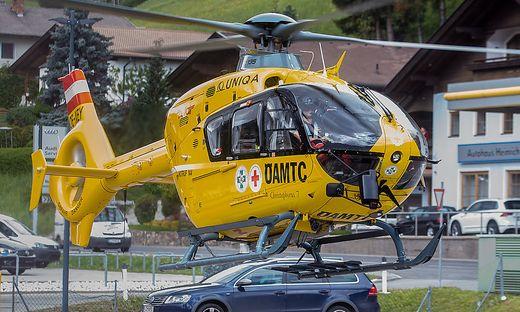 Der Verletzte wurde ins Krankenhaus Lienz geflogen