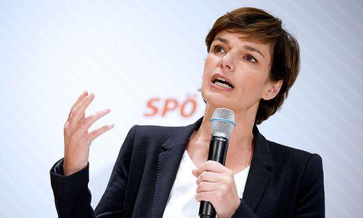 SPÖ-Chef Pamela Rendi-Wagner