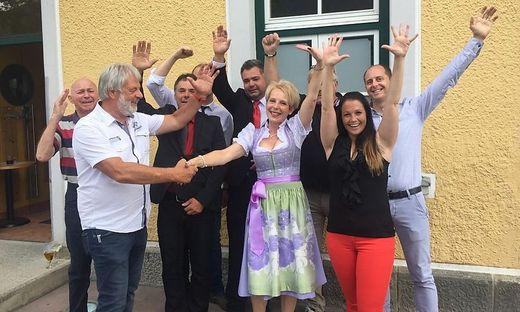 Jubel bei der SPÖ Teufenbach-Katsch
