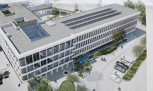 AT&S - hier die neue Firmenzentrale in Leoben - investiert in Südostasien 1,7 Milliarden Euro