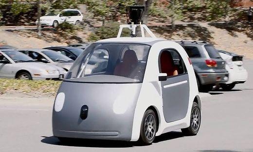Unförmiger Google-Prototyp.