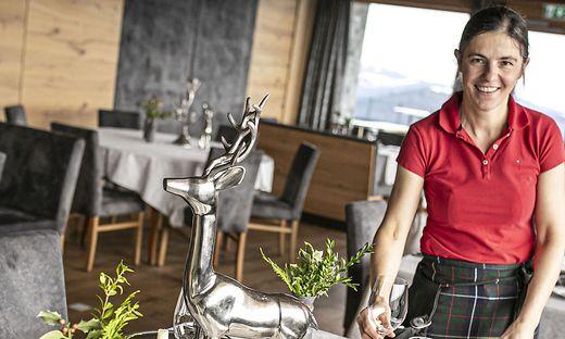 Heike Skorianz vom Gipfelhaus Magdalensberg hofft auf kleine Hochzeiten und andere Feierlichkeiten
