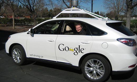 Andreas Wendel im Google-Auto