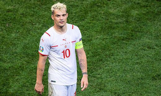 Granit Xhaka verpasst das Spiel gegen Italien