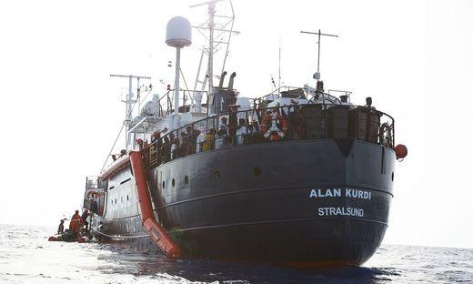 Die Flüchtlinge der Alan Kurdi werden in Europa verteilt