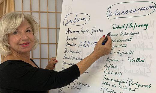 Einst Politikerin, heute psychologische Astrologin: Tatjana Kaltenbeck-Michl