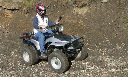 In Hengsberg wurden zwei Quads gestohlen
