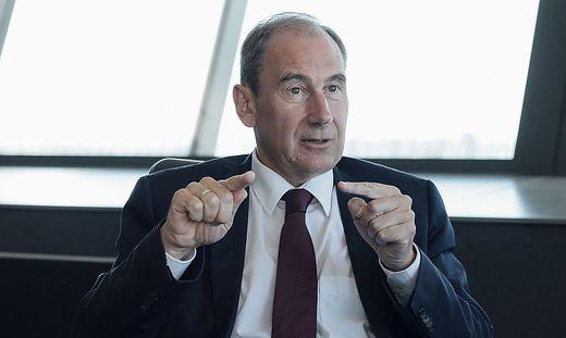 Martin Schaller, Generaldirektor der Raiffeisen Landesbank
