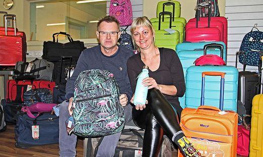 Gottfried und Marion Schluga eröffneten vor Kurzem ihr Outlet in Glandorf