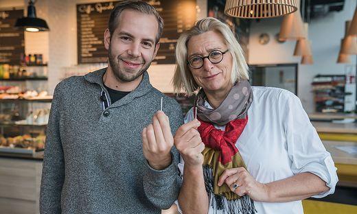 Johannes Eichler und Annelie-Martina Weinberg kämpfen für ihr Start-up