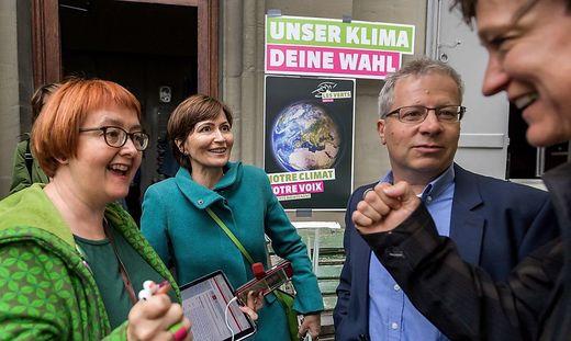 Grüner Jubel in der Schweiz