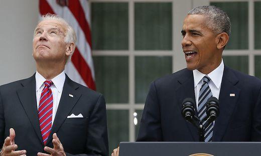 Joe Biden und Barack Obama sind jetzt Protagonisten einer Krimikomödie