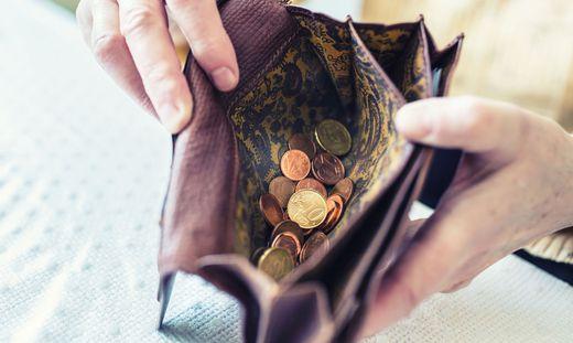 Viele Mindestpensionistinnen leben nun auch an der Armutsgrenze