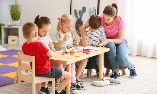 Kindergärtnerinnen beklagen mangelnde Wertschätzung