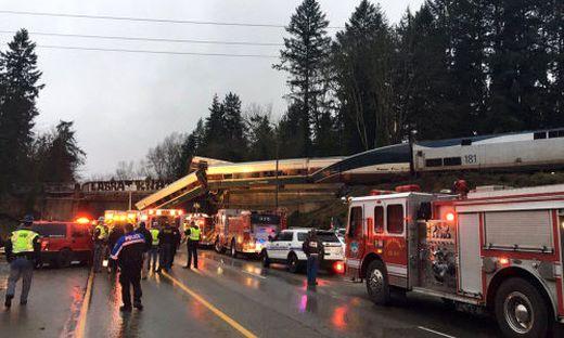 Entgleister Zug war laut US-Behörde deutlich zu schnell unterwegs