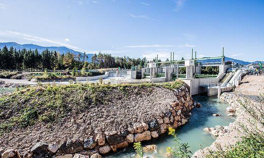 Das Kraftwerk Schütt wurde offiziell wieder eröffnet