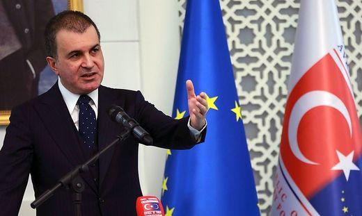 Kritische Worte für FPÖ: der türkische Europaminister Ömer Celik