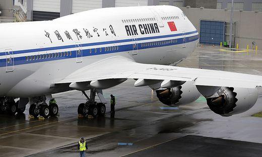 China Boeing 747
