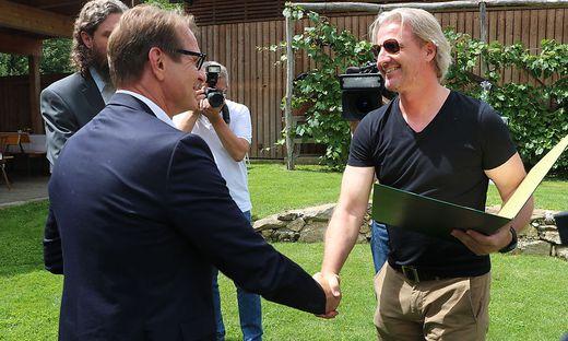 Große Ehre für Markus Schopp