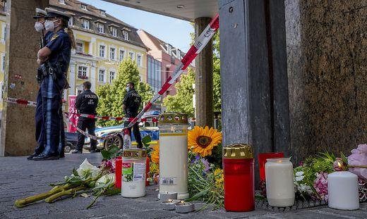 In Würzburg wurden am Freitag drei Frauen getötet