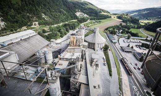 Mittlerweile gibt es im Wietersdorfer Zementwerk die modernste Umweltschutztechnik
