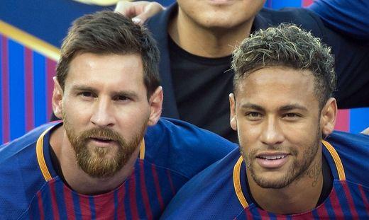 Lionel Messi (links) und Neymar
