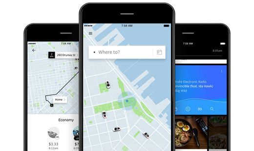 Uber verweist heute auf 90 Millionen Kunden in über 700 Städten