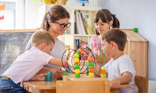 Die Kinderbetreuung der Gemeinden ist derzeit nur eingeschränkt verfügbar