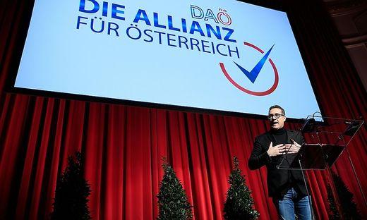 Strache-Rede beim Neujahrstreffen der DAÖ