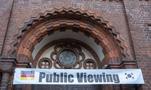 Kirchen Viewing Deutschland Berlin 26 06 2018 Kapernaumkirche Evangelische Kirchengemeinde Kaper