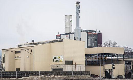 Biomasse Heizwerk BioMa Energie AG St. Andrae Jaenner 2019