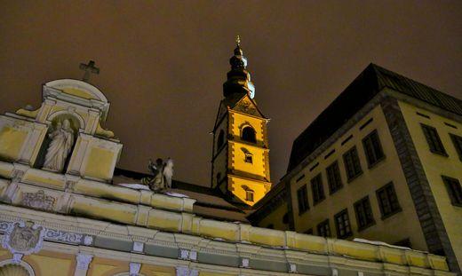 Im Klagenfurter Dom findet eine Vesper statt