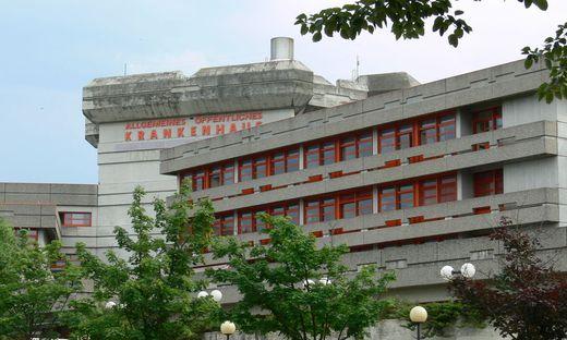 Im Krankenhaus Oberwart werden derzeit keine neuen Patienten in der Station Interne Medizin IV aufgenommen