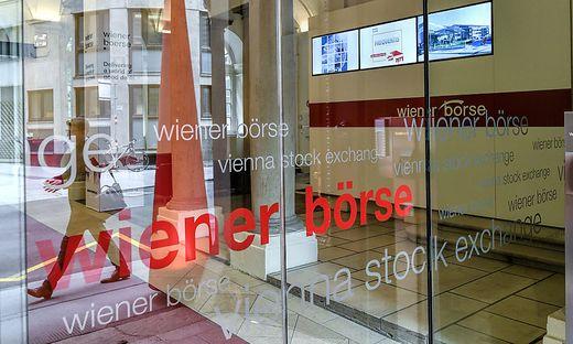 Eingang zur Wiener Börse