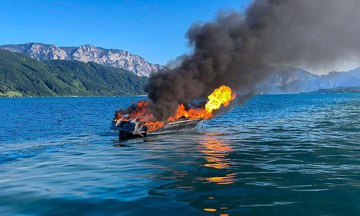 Laut Einsatzkräfte ist es zu keiner gröberen Verschmutzung des Wassers gekommen