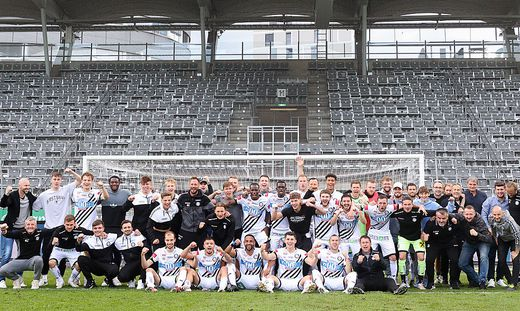 Der SK Sturm blickt auf eine erfolgreiche Saison zurück