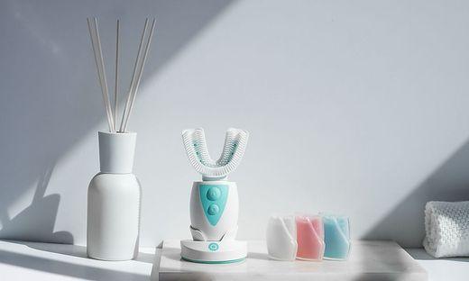 Die Amabrush Zahnbürste versprach saubere Zähne in zehn Sekunden