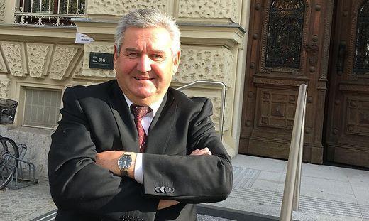 Lannachs Bürgermeister Josef Niggas