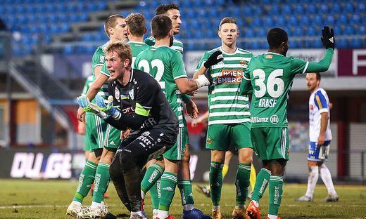 Ärgern musste sich Rene Swete bei Duellen mit Rapid vor allem im eigenen Stadion