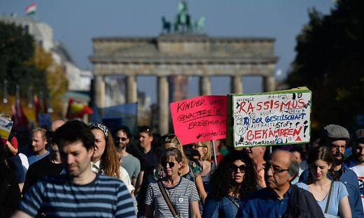 Großdemonstration in Berlin